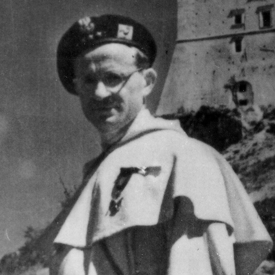 Adam Studziński OP – Monte Cassino